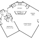 One Bedroom 768 sq ft