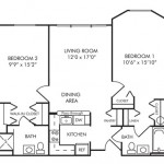 2 Bedroom | 2 Bath 886 sq ft $ Call For Pricing